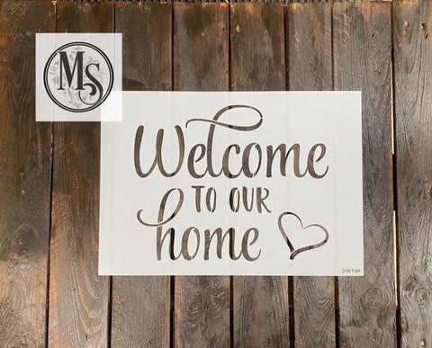 S0619 Welcome to our home - 3 different designs