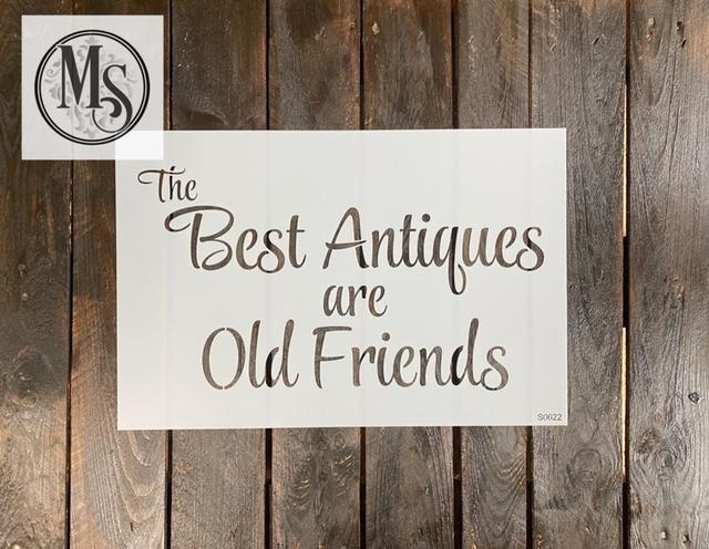 S0622 The Best Antiques are Old Friends