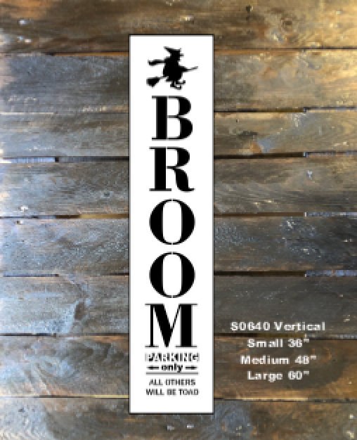 S0640 Broom Parking - 3 sizes