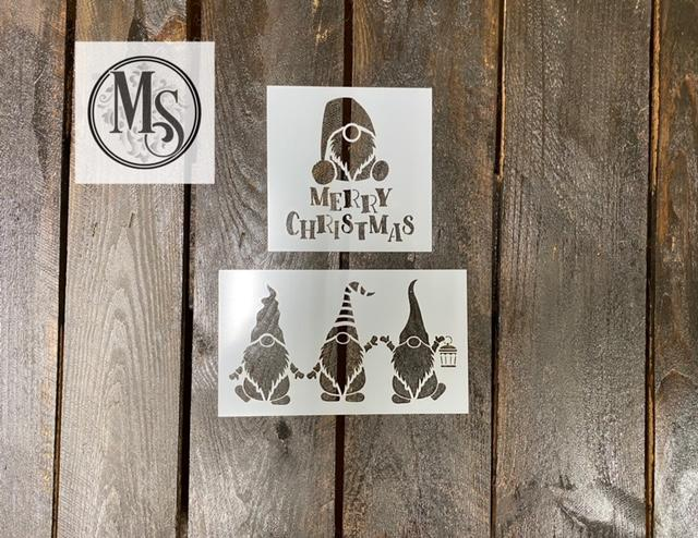 S0658 Mini Gnome Stencil Set