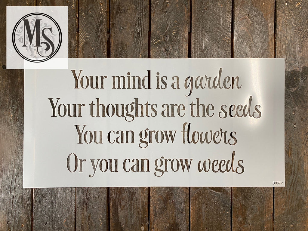 S0672 Your Mind is a Garden