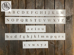 S0679 Serif Font in 4 sizes
