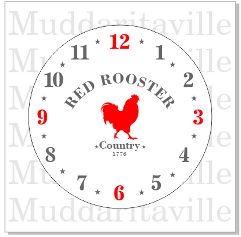 M0161 Country Farmhouse Clock