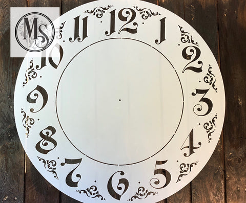 M0220 Ornate Clock