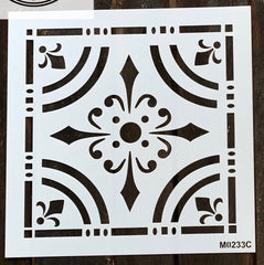 M0233 10 inch tiles - 4 design options