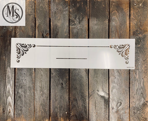 M0282 Decorative Trim for doormats - 2 sizes