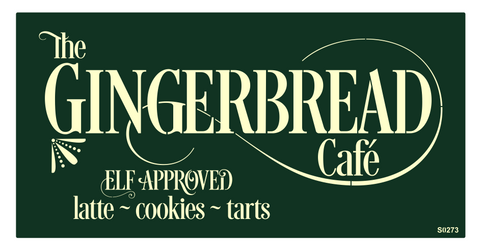 S0273 Gingerbread Cafe