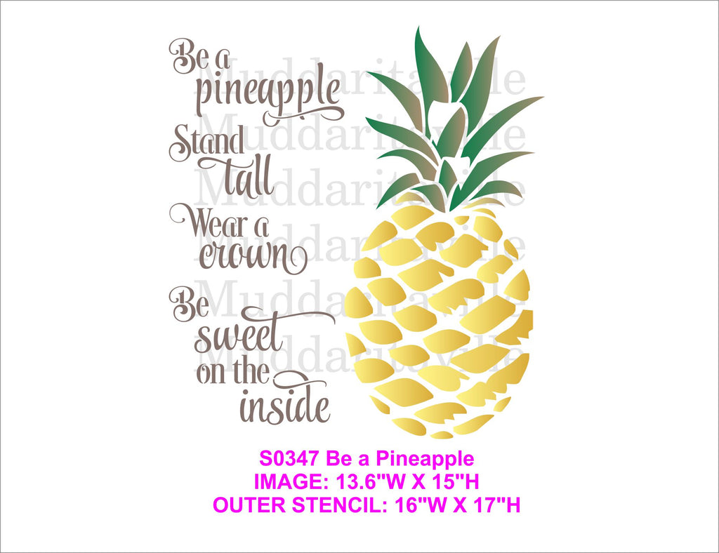 S0347 Be a Pineapple