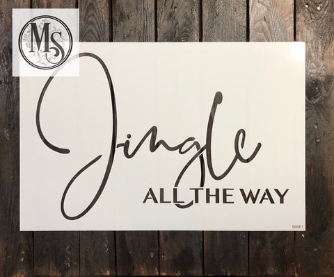 S0561 Jingle All the Way - 3 sizes available