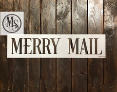 S0565 Merry Mail - Horizontal - 2 styles, each in 2 sizes