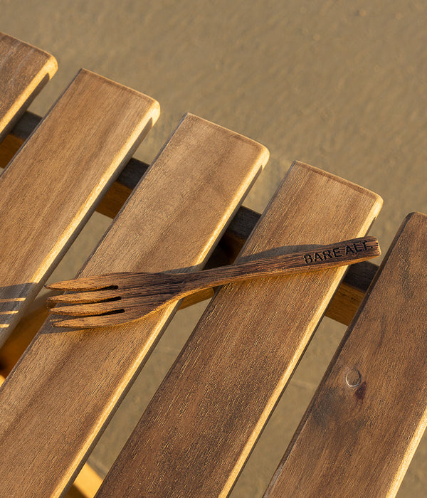 Wooden Ebony Fork