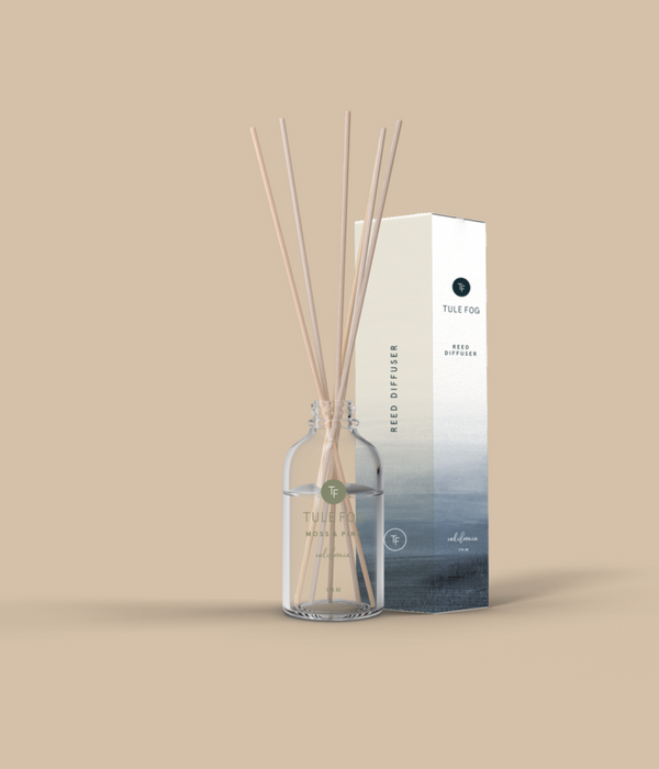 Moss + Pine Reed Diffuser
