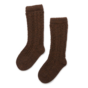 Konges Sløjd Wollsocken Cacao Brown