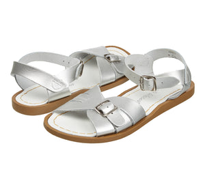 Saltwater Sandals Classic Silver