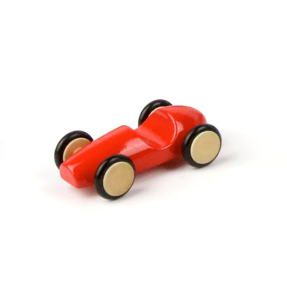 Milaniwood Mini Wood Racer Rot