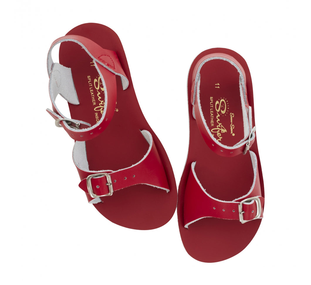 Saltwater Sandals Surfer Red