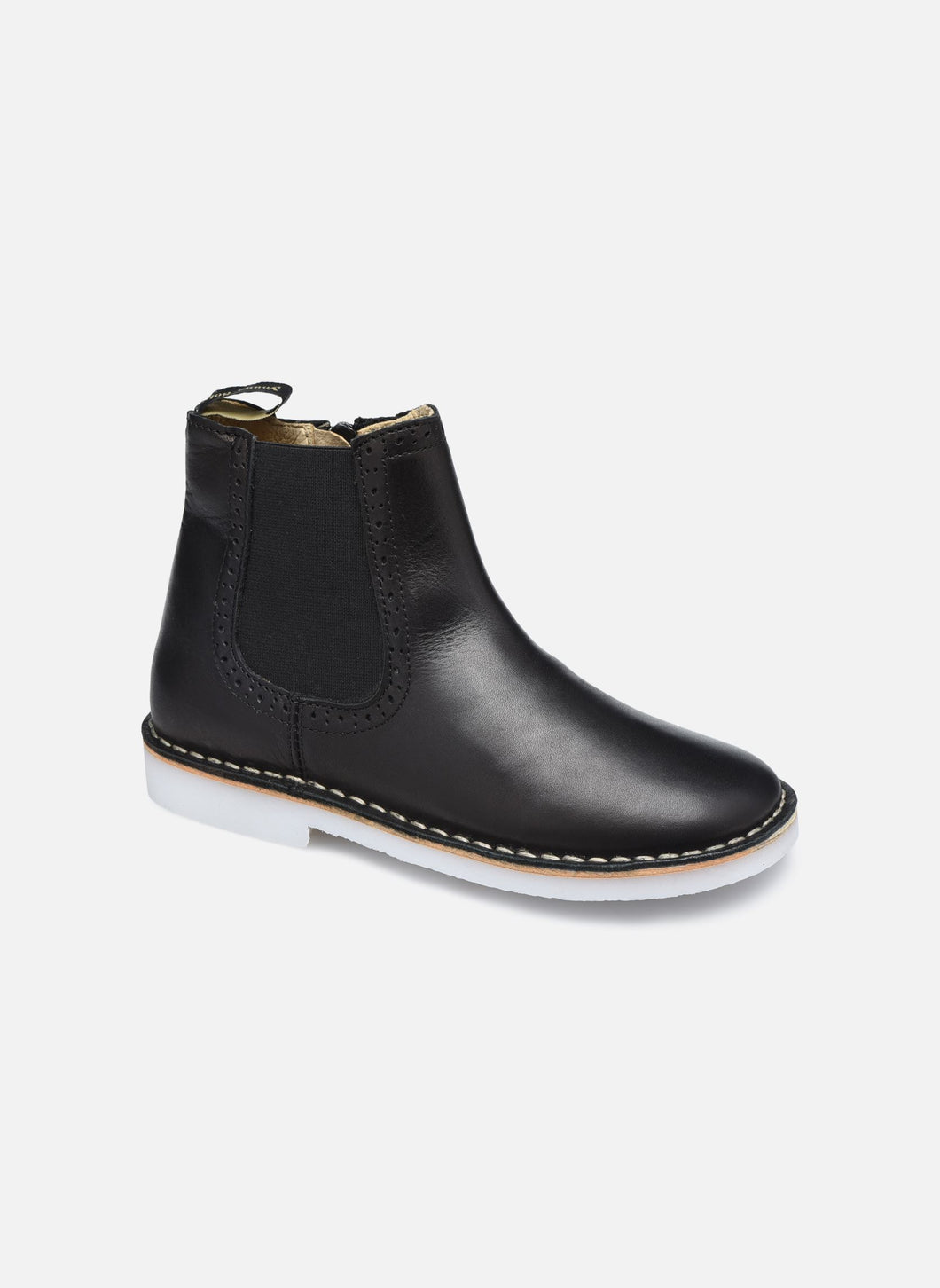 Young Soles Marlowe Leather Black Halbschuhe