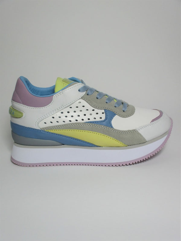 Sneaker in pelle donna APEPAZZA RUMER multicolor