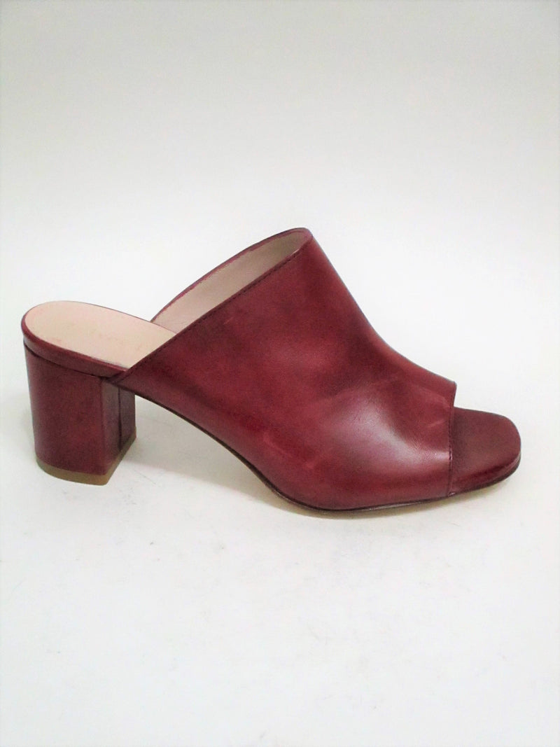 Sabot pelle donna Triver Flight 192-29P Bordeaux