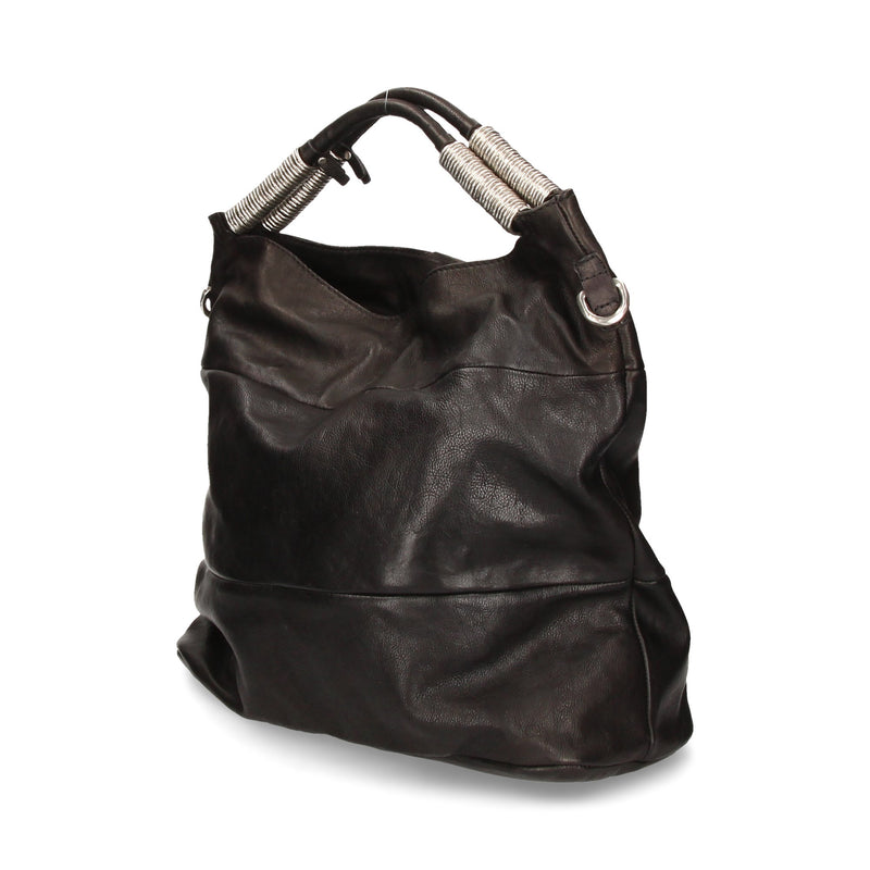Borsa donna in pelle As98 200501 nero