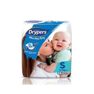 Drypers We We Dry Diapers S 58