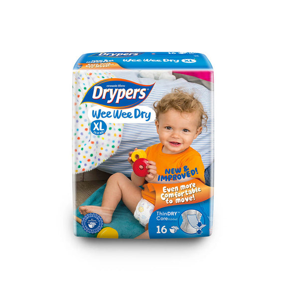 Drypers We We Dry Diapers XL16