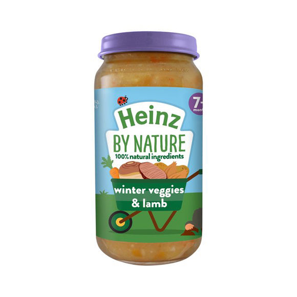 Heinz Jar 200g 7m+ Winter Vegs and lambs