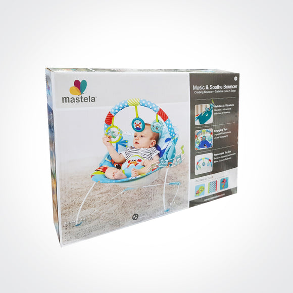 Music & Soothe Baby Bouncer