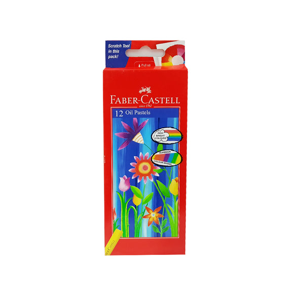 Faber-castell 12 oil pastels