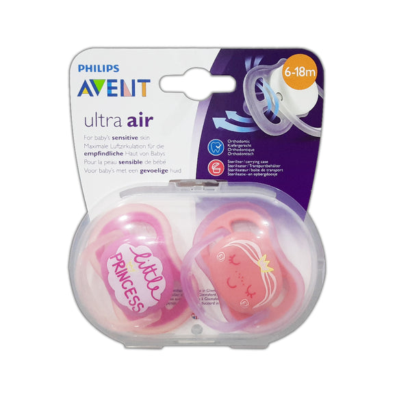 Avent SOOTHER 6-18M GIRL DEC