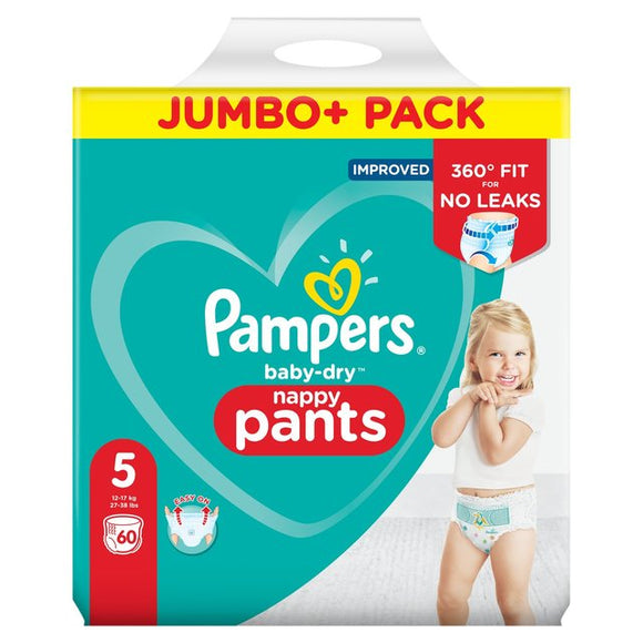 Pampers pants XL60 jumbo pack