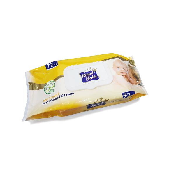 Royal baby wet wipes