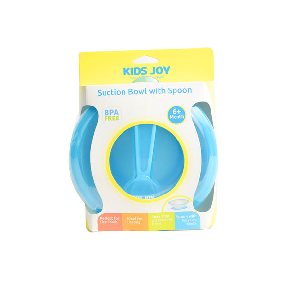 Kids joy suction bowl with spoon