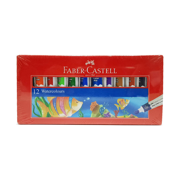 Faber-castell 12 watercolors