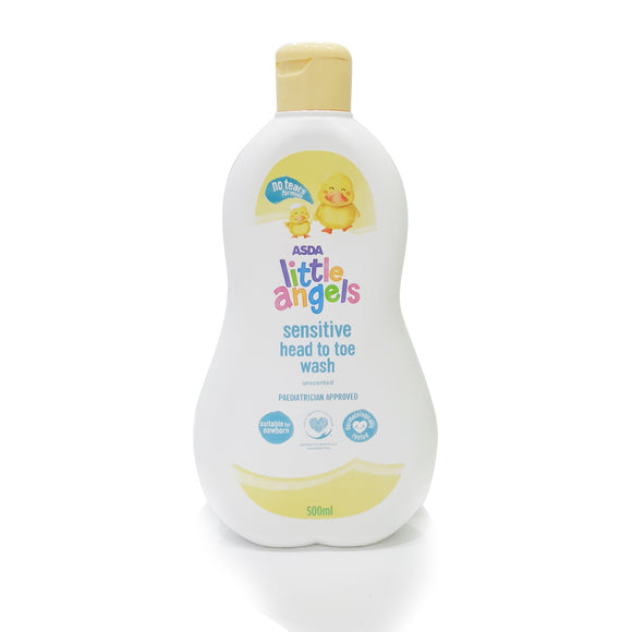 ASDA Sensitive Head to Toe Wash 500ml