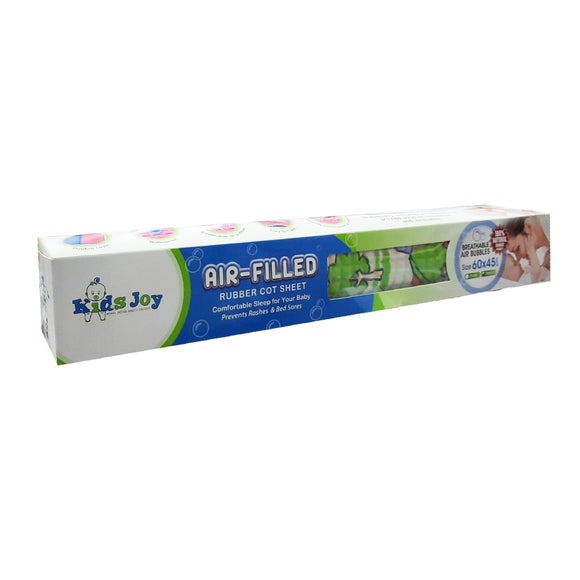 Kids Joy Air Filled Cot Sheet 60 x 45cm