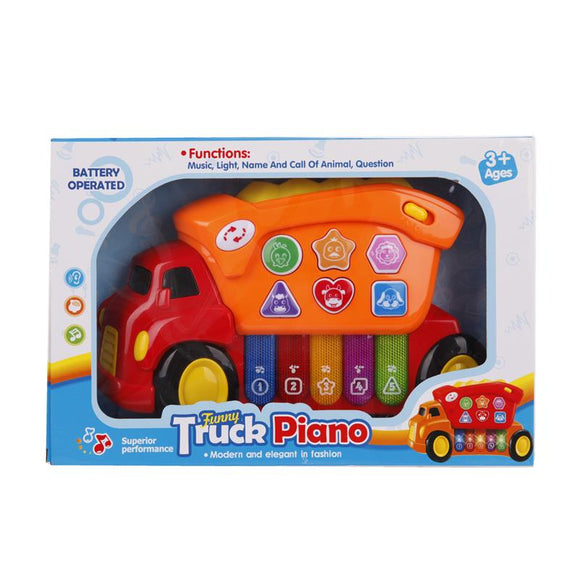 Funny Truck Piano Toy