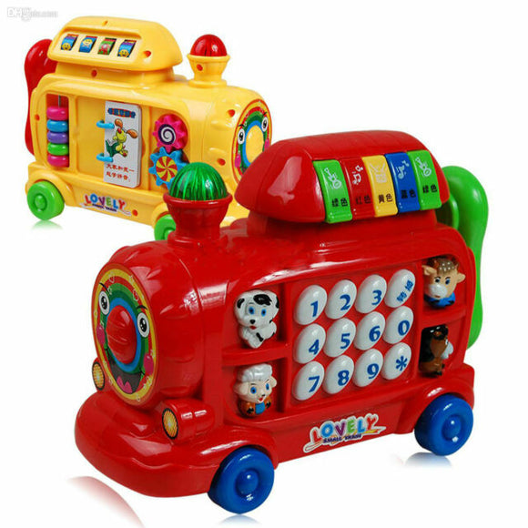 Puzzle Music Train Toy