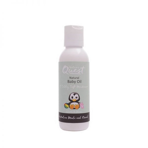Nature's Quest Baby Oil 125ml