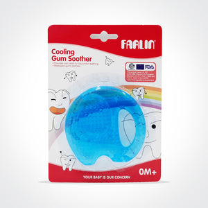 Farlin Cooling Gum Soother-Blue