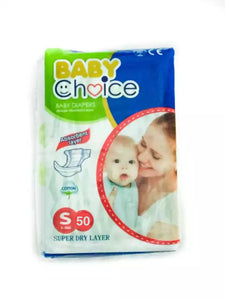 Baby Choice Diapers 50 pcs