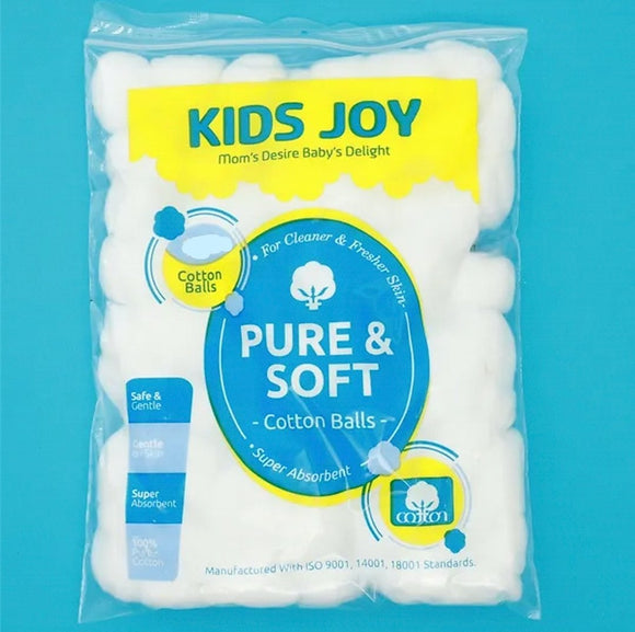 Kids joy cotton balls 100pcs
