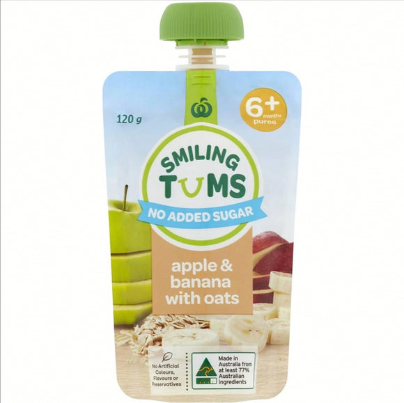Smiling Tums Puree 120g