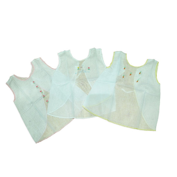 Kids joy baby frock 3pcs
