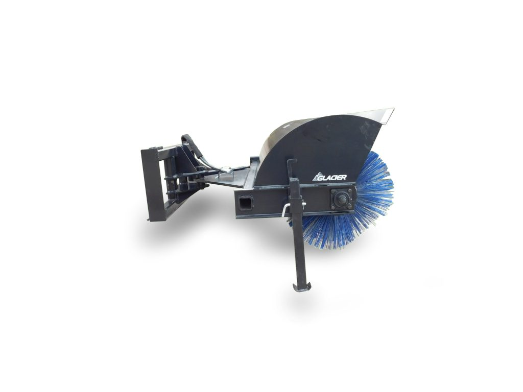 ANGLE BROOM - EXTREME DUTY - Dogwood Hills Agri Sales-Glacier Attachments