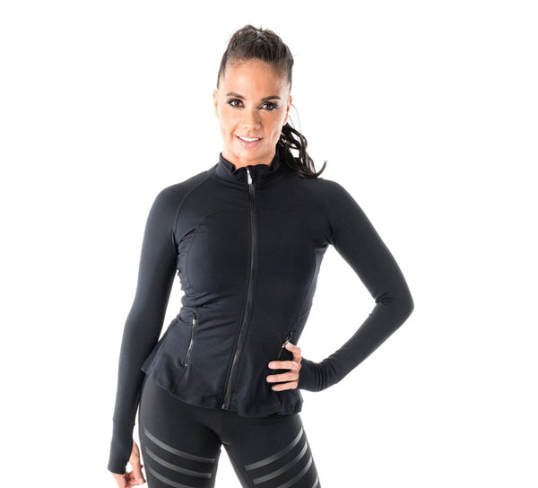 Stretch Sport Jacket - Flared Bottom- Women's (340AW)