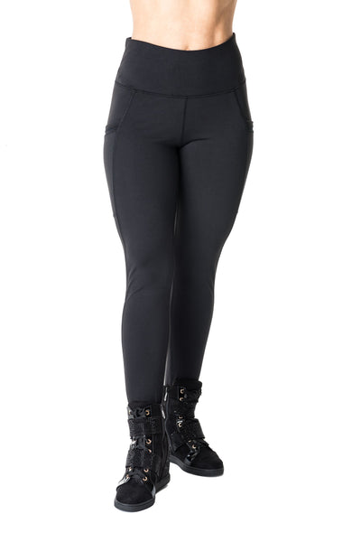 High Waist Leggings with Side Pocket - Women's (550AW)