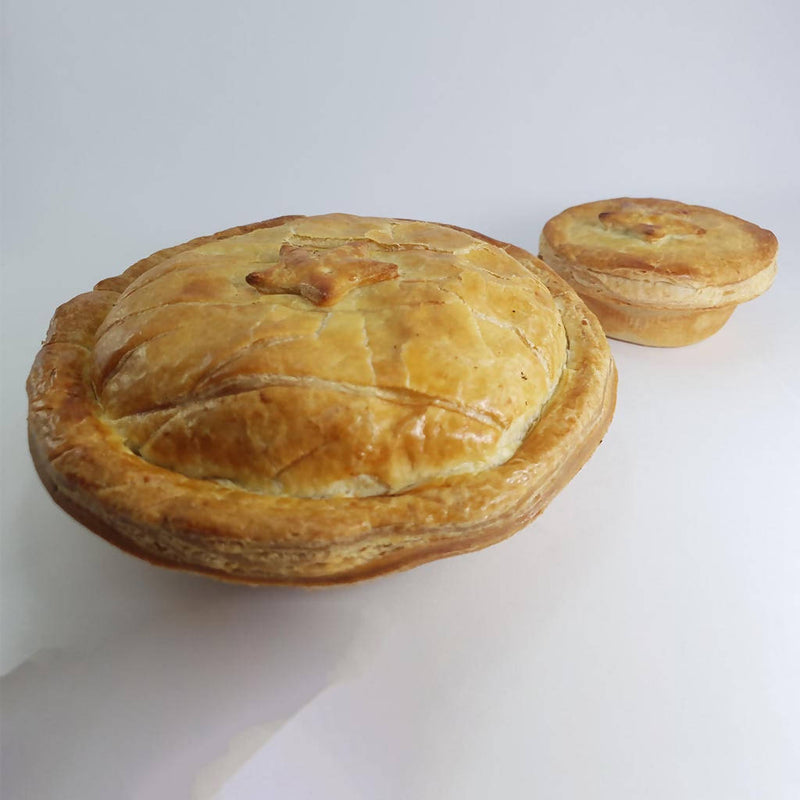 Beef and Burgundy Pie