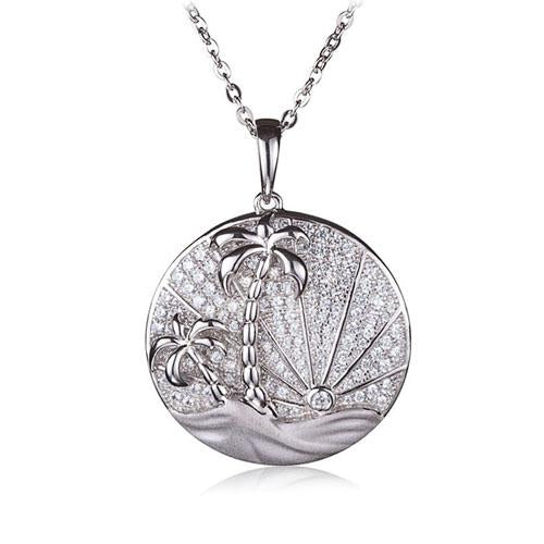 circle pendant sunrise