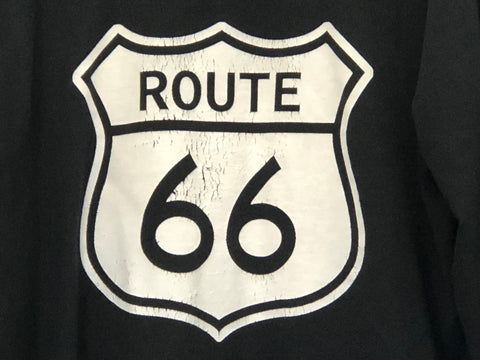 Image of Pullover Hoodie with Route 66 Shield